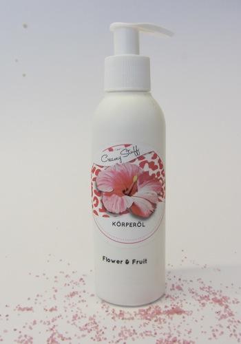 Körperöl Flower&Fruit neu