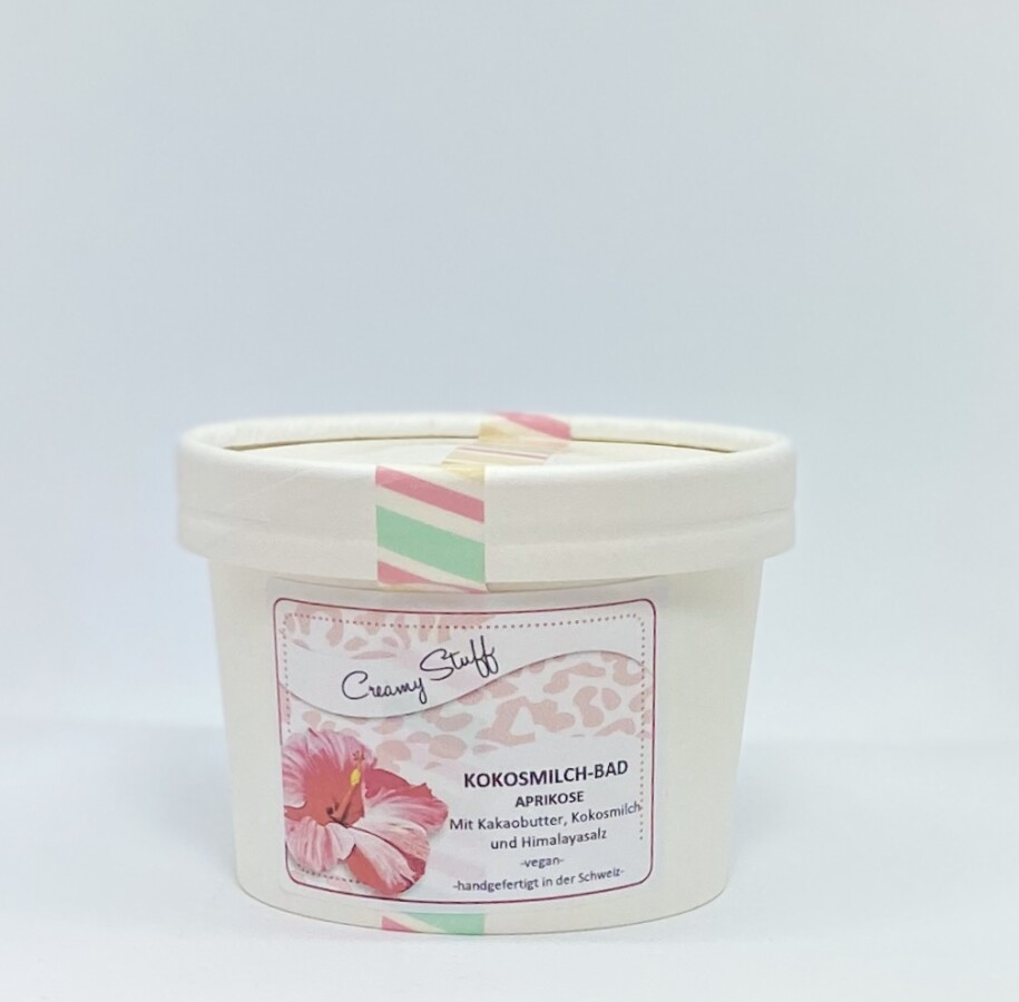 Kokosmilch-Bad Aprikose