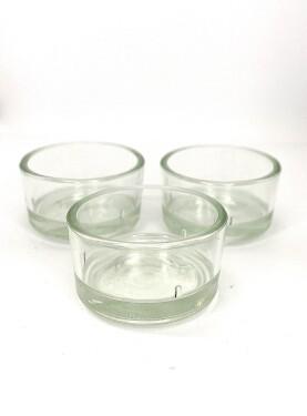 Teelicht-Glas